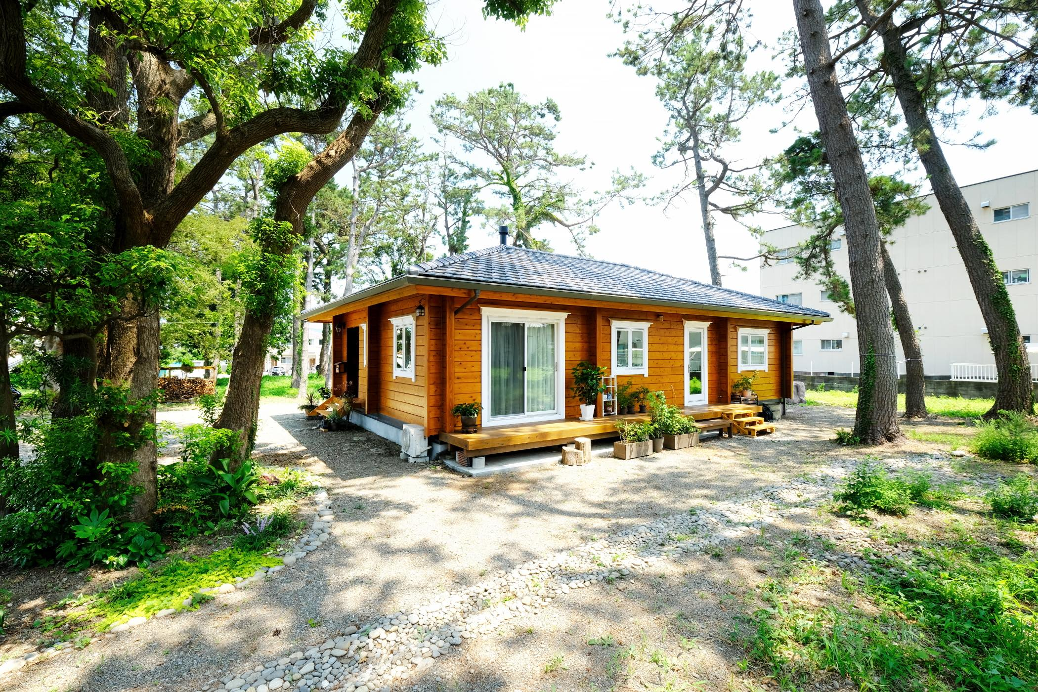 บ้านไม้สไตล์ญี่ปุ่น เหมาะกับวัยเกษียณ เพลิดเพลินกับการใช้ชีวิตในชนบท